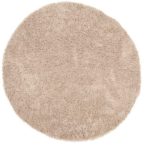 circle shag rug safavieh classic shag ultra taupe 8 ft x 8 ft area rug sg240d 8r the home depot