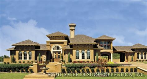 Sater Design Collection Sater Design Group Sater Mediterranean Home Plans