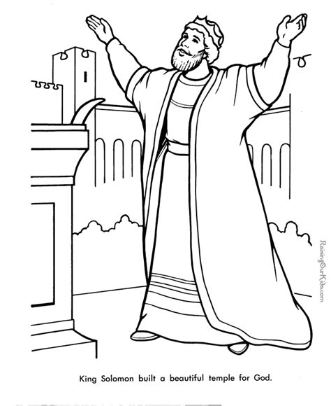 coloring pages about king david bible coloring pages king david az coloring pages