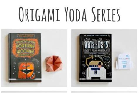 Origami Yoda Series - books make and takes
