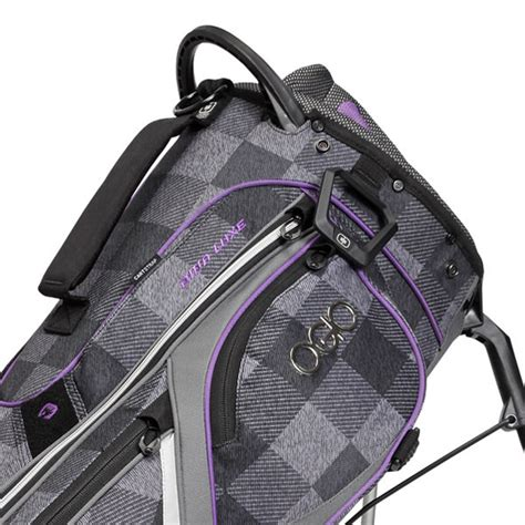 Ananndapers Standing Bag Purple ogio luxe golf stand bag greyhound purple