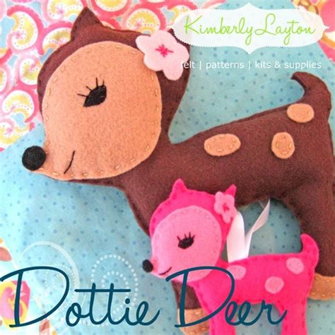 Handmade Felt Craft Patterns - felt ornament patterns on sale