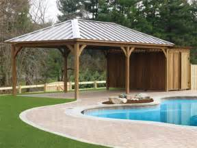 Plans To Build A Octagon Picnic Table by Wood Pavilions 187 Green Acres Outdoor Living