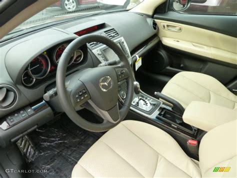 Mazda 6 2012 Interior by Beige Interior 2012 Mazda Mazda6 S Grand Touring Sedan