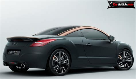 peugeot rcz r black 2014 peugeot rcz r the most powerful french coupe series