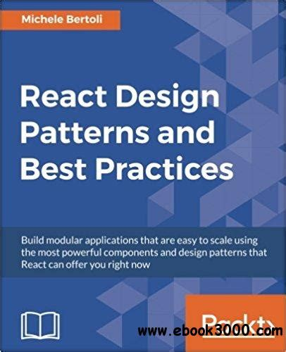 design pattern react react design patterns and best practices free ebooks