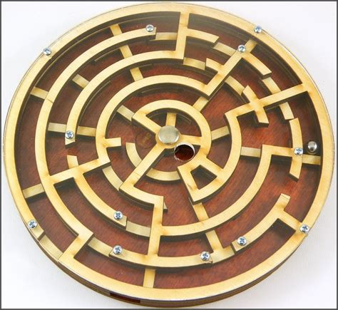 metal wooden puzzles brain teasers games for kids labyrinth wooden brain teaser puzzle game ebay