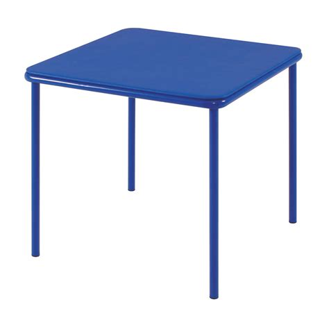 Cosco Card Table And Chairs Cosco Home And Office Products Blue Kid S Vinyl Top Table