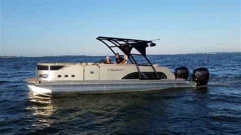boat rentals avalon nj my new avalon pontoon powered by twin mercury racing 400r