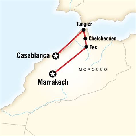 middle east map morocco northern morocco on a shoestring in morocco africa