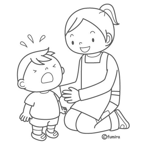 coloring page of crying baby crying coloring pages coloring pages