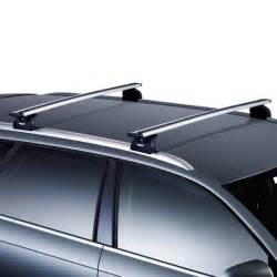 Vauxhall Astra Roof Bars Vauxhall Astra Thule Wingbar Silver Roof Bars Driveden Uk