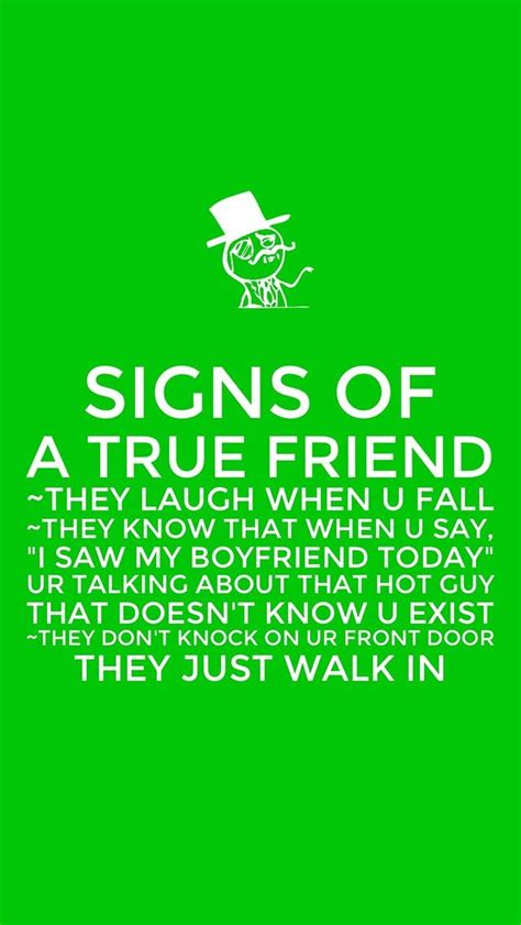signs of true signs of a true friend keep calms quotes