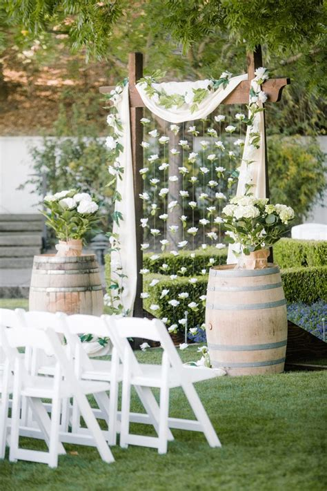 diy backyard wedding ideas 25 chic and easy rustic wedding arch ideas for diy brides