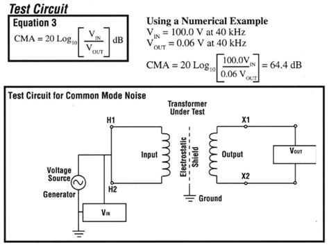 common mode choke as isolation transformer power problems common mode noise attenuation reduction