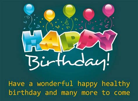 Happy Birthday Wishes For Pictures Cute Birthday Wishes Send Everyday
