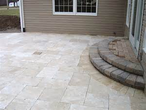 Large Paver Patio Paver Patios Patio Designs Dayton Landscaping