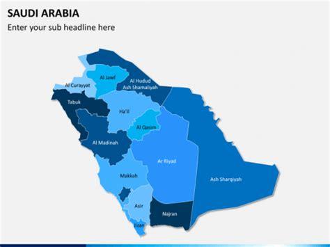 saudi arabia map powerpoint sketchbubble