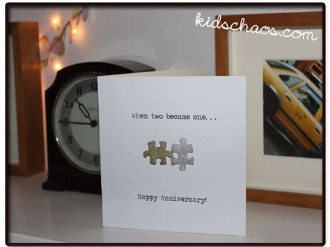 Jigsaw Puzzle Birthday Card jigsaw puzzle crafts greetings cards kidschaos