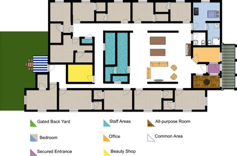 Small Nursing Home Floor Plans Philosophy Of Care For Those With Dementia And Alzheimers
