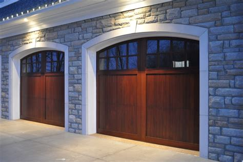 9x9 Garage Door by Wood Doors Traditional Garage Doors And Openers By