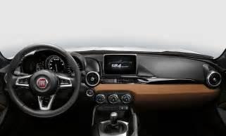 Fiat Helpline Number Fiat 124 Spider Interiors Fiat