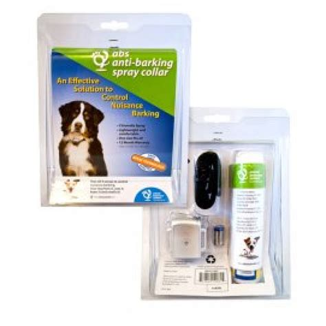 spray collar anti barking spray collar