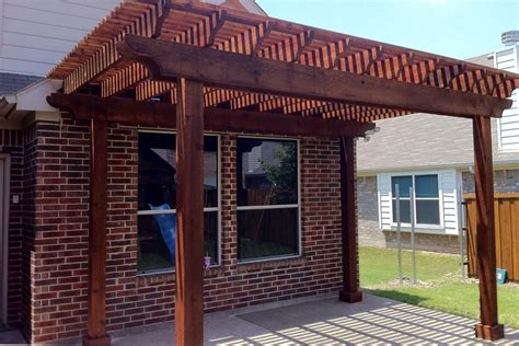 Patio Covers Mckinney Tx Small Patio Given Gorgeous Arbor In Mckinney Hundt