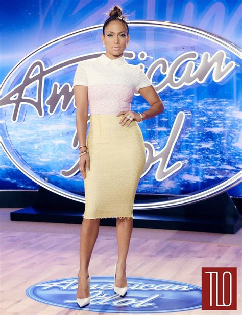 jennifer lopez looks different on idol jennifer lopez is all business at the quot american idol