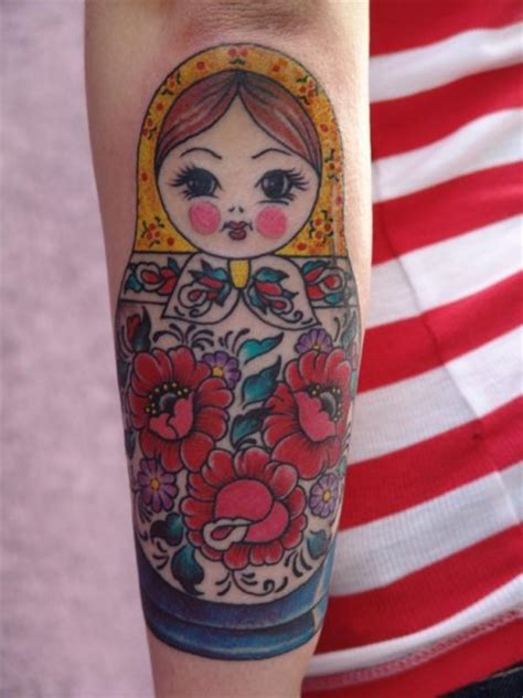 russian doll tattoo design tattoos on nesting doll arrow tattoos