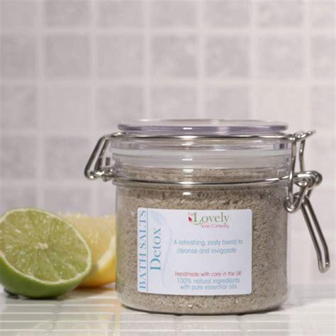 Aromatherapy And Detox Bath by Detox Aromatherapy Bath Salts By Lovely Soap Company