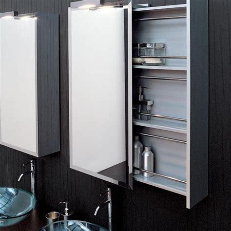 Mirrored Bathroom Cabinet With Shelf идеи для хранения косметики