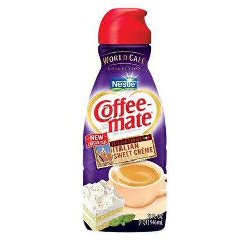 Creamer Coffee Mate coffee mate liquid creamer only 0 75 at publix starting 1 9