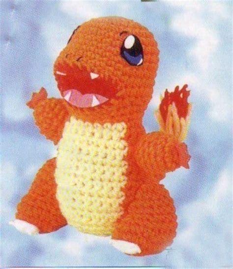 amigurumi pattern free pokemon amigurumi pokemon charmander dragon animal doll crochet