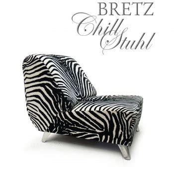 Stuhl Chill by Bretz Chill Sessel Stuhl Zebrastoff Designklassiker Lounge
