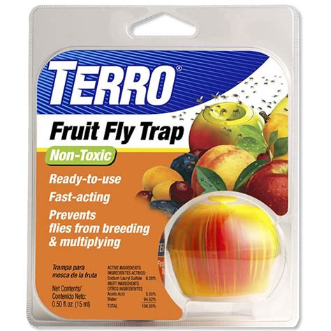 How To Get Rid Of Garden Pests - amazon com terro fruit fly trap t2500 home pest control traps garden amp outdoor
