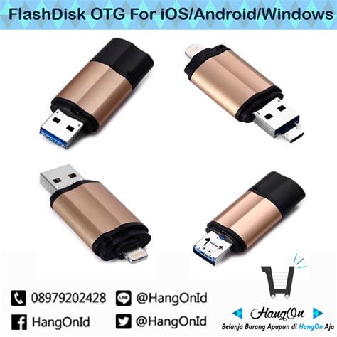 Flashdisk Otg Android Ios Noosy Original Flash Disk Fd Lightning 32g jual flashdisk otg 16gb for ios android windows usb 3 0 hangon