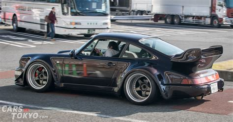 porsche rwb rwb porsche 911 964 black cars of