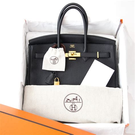 Tas Hermes 35 Black Togo labellov hermes birkin 35 black togo ghw invoice buy and sell authentic luxury