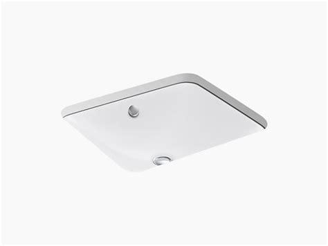 kohler caxton rectangular sink k 5400 iron plains dual mount bathroom sink kohler