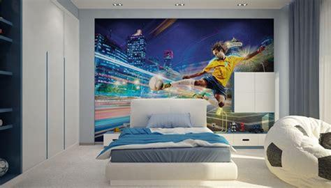 desain dinding kamar tema bola 8 dekorasi cantik kamar tidur anak laki laki perempuan