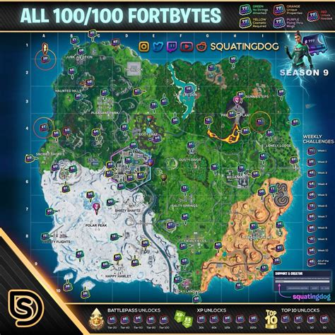 photo carte fortnite saison  eden frais
