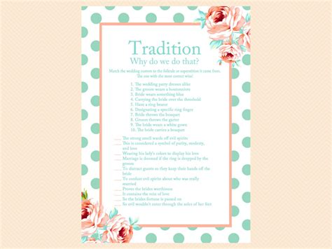 top bridal shower and activities mint and bridal shower package magical printable