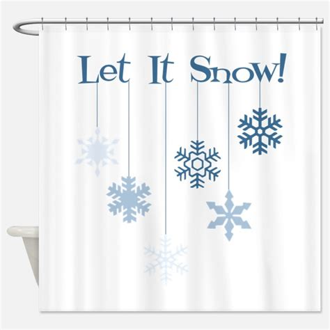 snowflake shower curtain snowflake shower curtains snowflake fabric shower