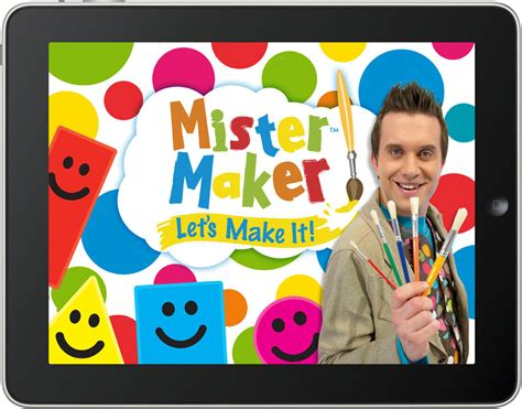 doodle maker cbeebies let s make it review mister maker app