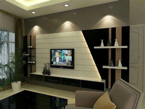 contemporary wall unit design  deep dark panels