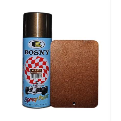 Kunststoff Abriebfest Lackieren by Bosny Braun Metallic Spraydose Lackspray Acryl Spray 400