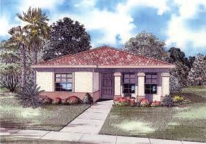4 room house 4 bedroom 3 bath mediterranean house plan alp 016n