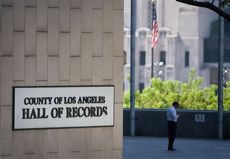 L A County Records L A County Portal To Make Records Easier To Access Mynewsla