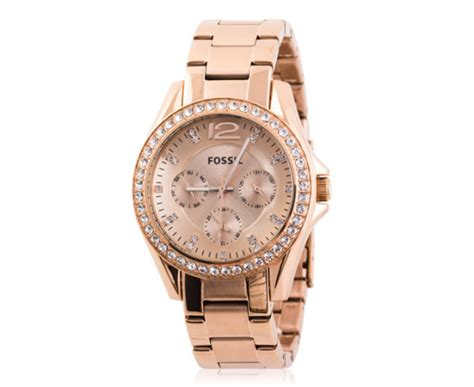 Fossil Cbell Gold 1 catch of the day fossil women s gold